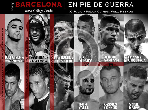 Barcelona En Pie De Guerra Fightcard