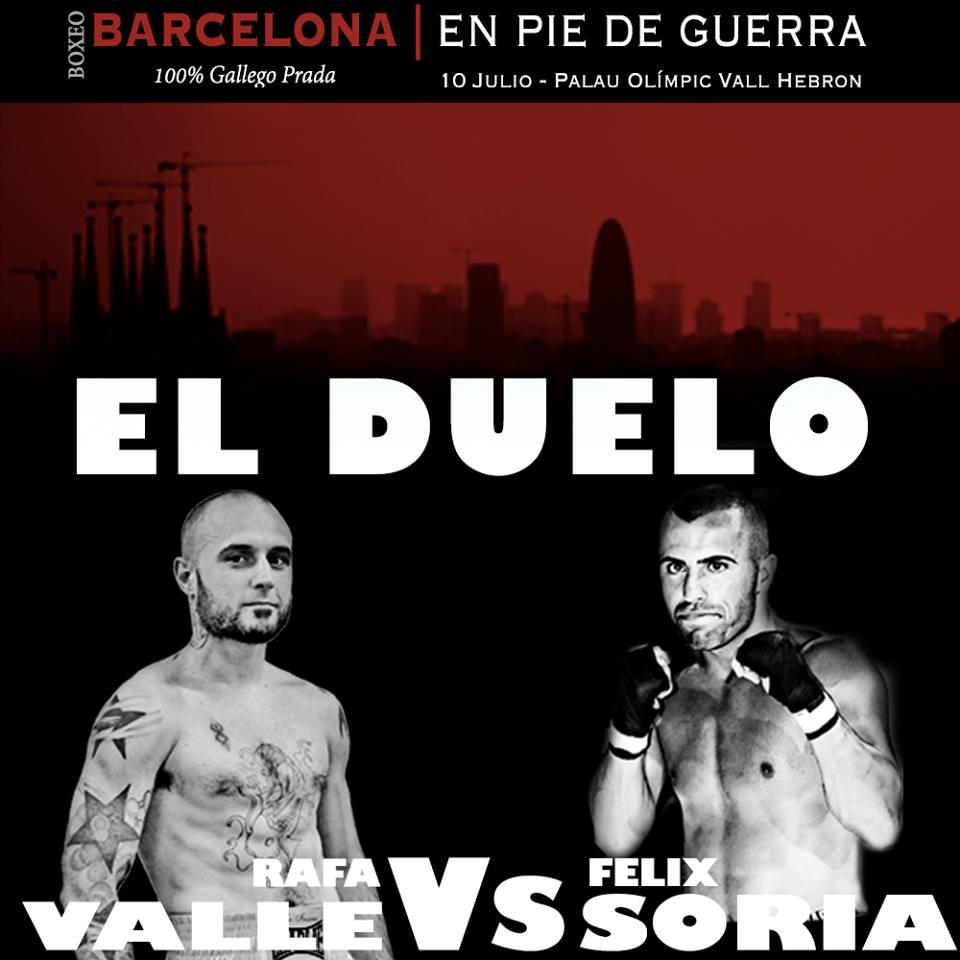 Rafa Valle se enfrentará a Marcos Soria