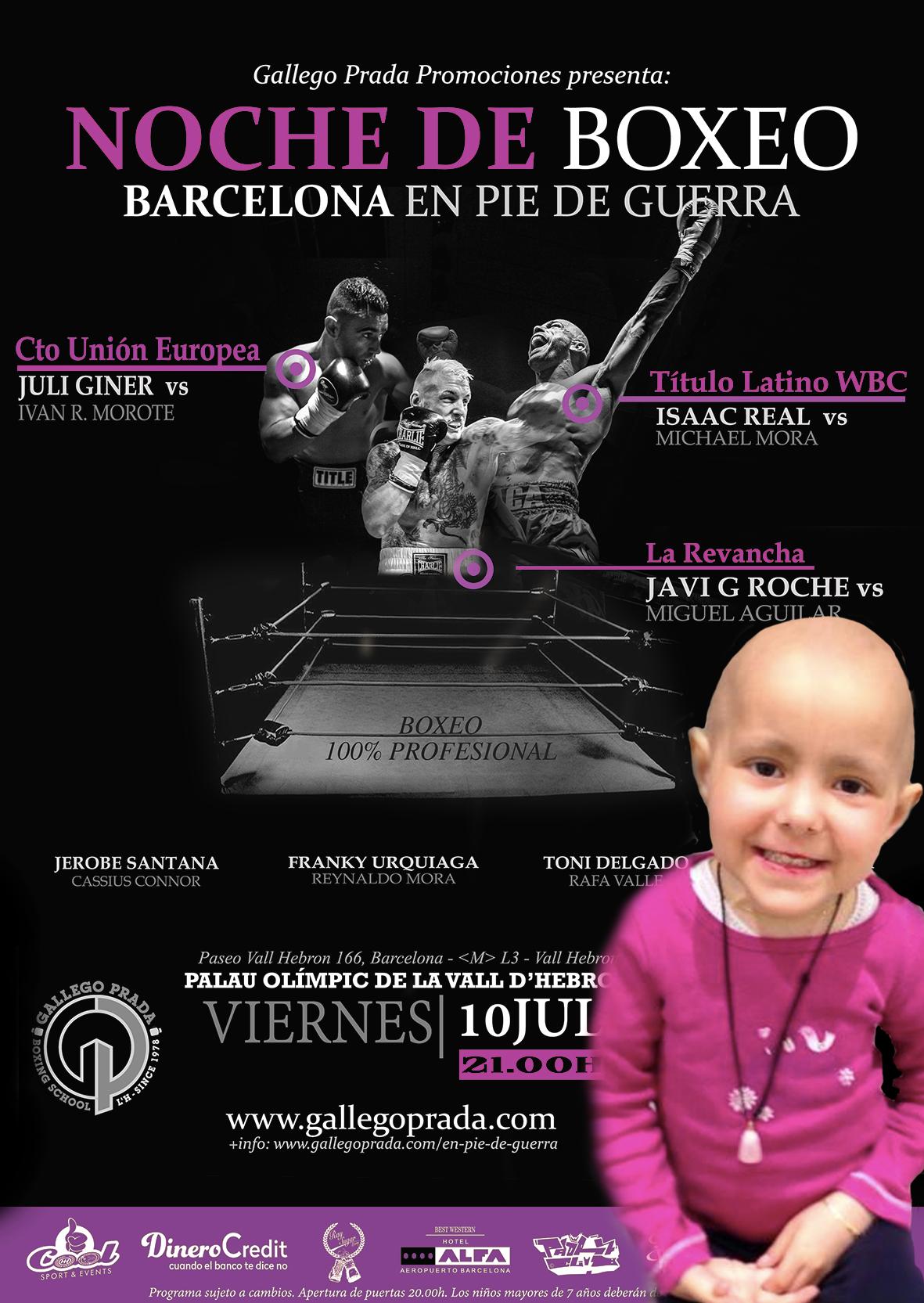 Gallego Prada contra el cáncer infantil