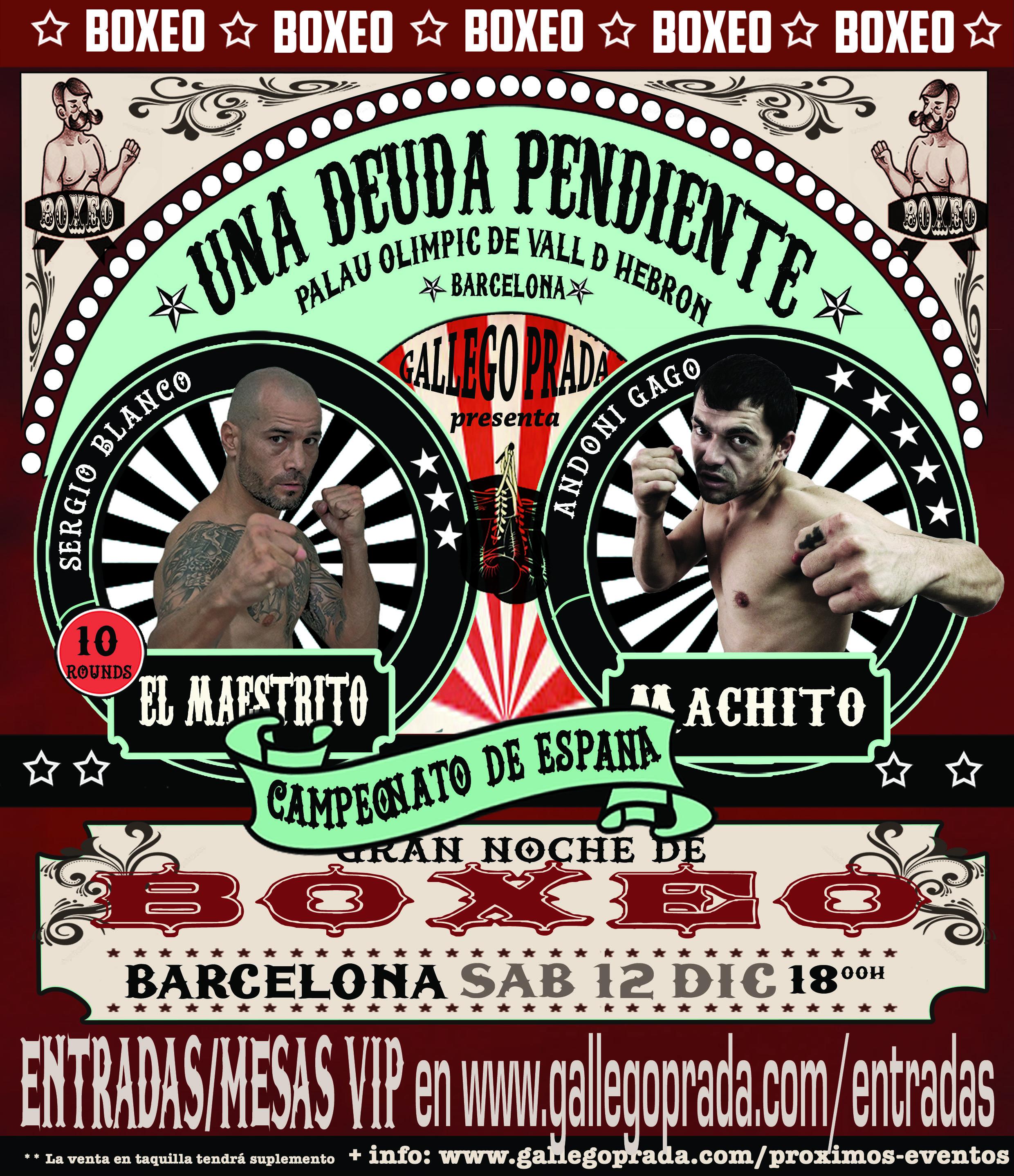Una deuda pendiente - Sergio Blanco vs Andoni Gago