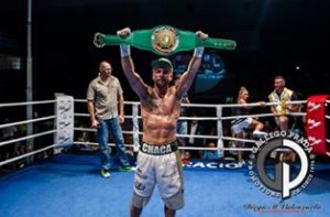 Isaac Real - Campeón Latino WBC S. Welter