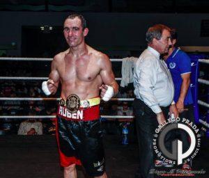 Ruben Díaz (Gallego Prada) - Campeón de España Peso Medio