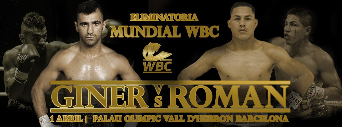 Juli Giner vs Miguel Roman | Eliminatoria Mundial WBC