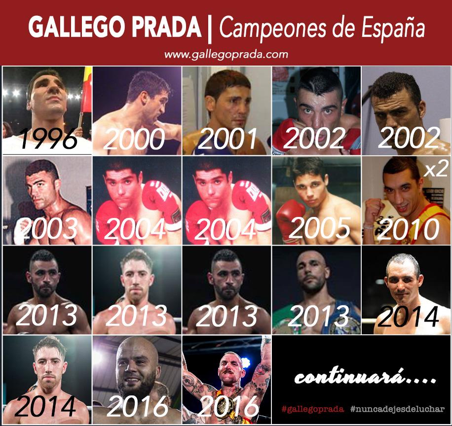 Historia del Club Gallego Prada de boxeo Barcelona