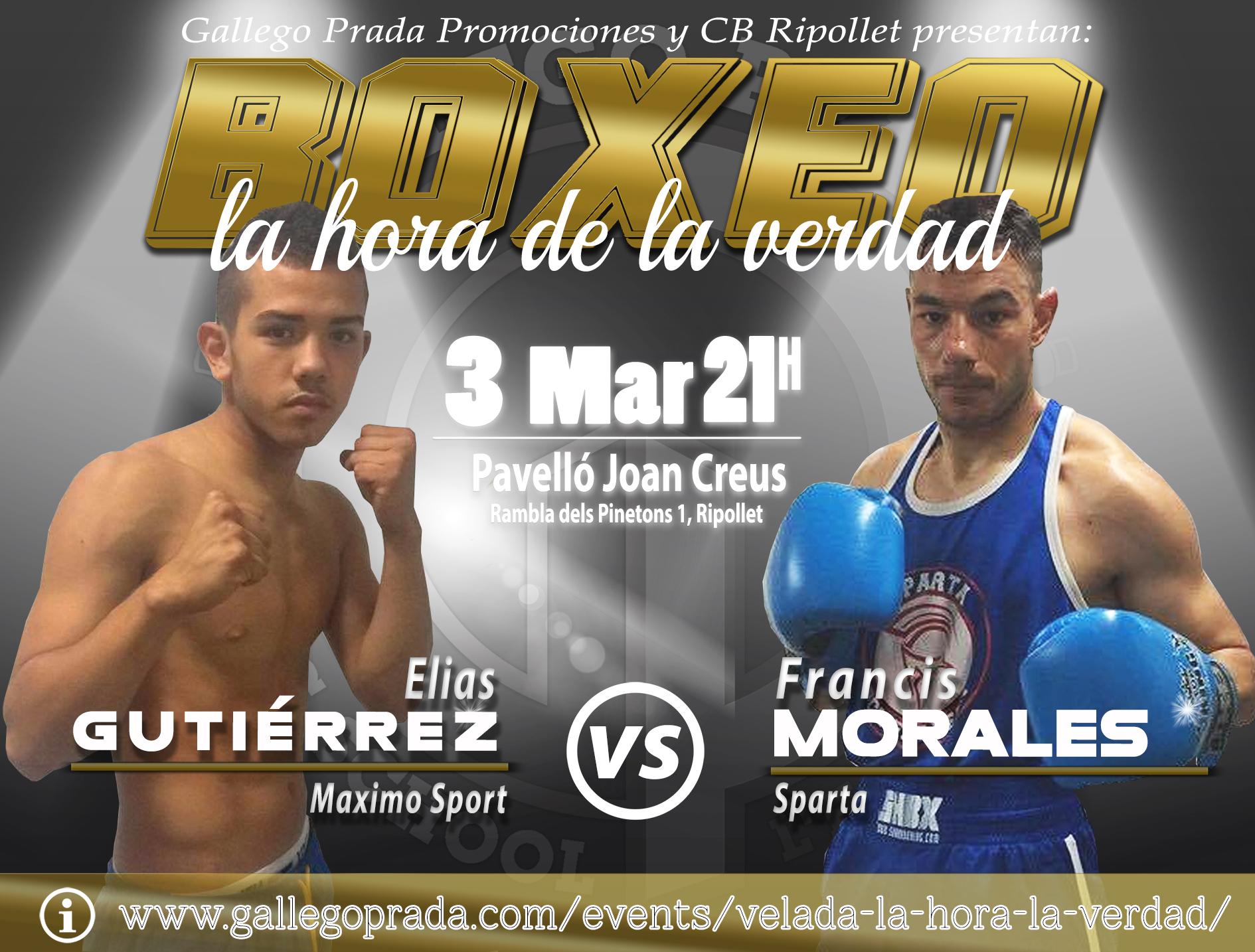 Elias Gutierrez vs Francis Morales