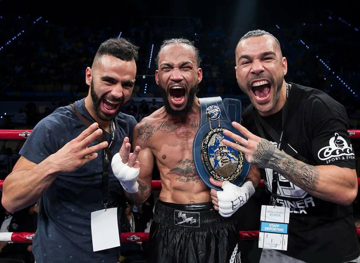 Abigial Medica Campeón de Europa Gallego Prada Boxeo Barcelona