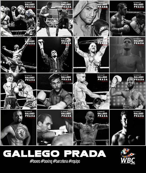 Equipo Gallego PRada Segunda Época Dorada del Boxeo Español según WBC