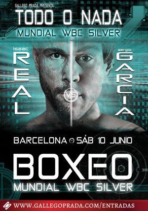 Cartel Todo o Nada Velada Boxeo Barcelona