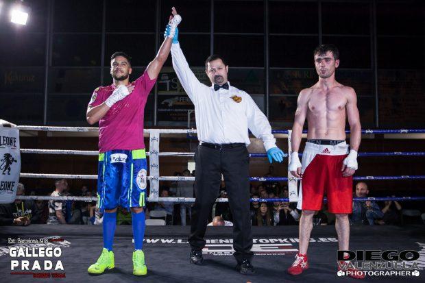 Jerobe Santana vs Giorgi Gviniashvili