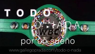 Cinturón Campeón Mundial WBC Silver Exhibición