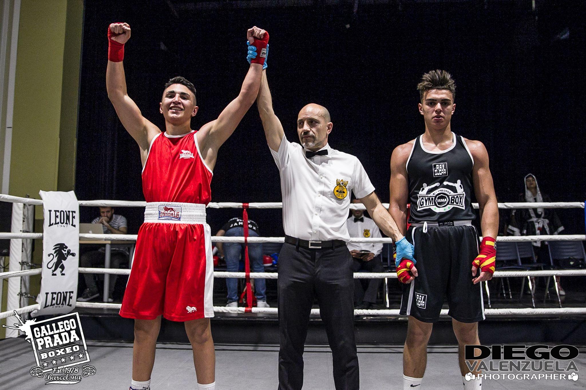- Eric Pato (CB Blanes) venció a Midal Tischza (Gym Box Alt Empordà)