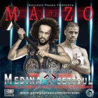 La Ley Del Mazo Velada de Boxeo Campeonato de Europa